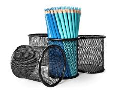 Colored Pencils in a Bin